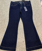 NWT Women's TORRID DENIM FLARE STRETCH JEANS Size 20 Actual 41X31 Rise 11.5