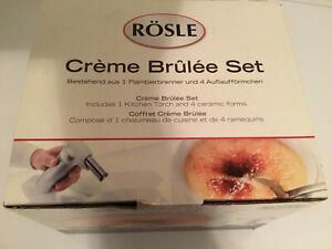 Rösle Crème Brûlée Set in der original Verpackung