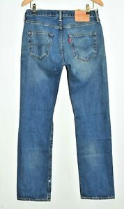 CLASSIC LEVI STRAUSS & CO BLUE 501 JEANS TROUSERS W30 L32