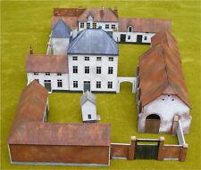 Hougomont Chateau Waterloo 1815 28 mm Laser Cut MDF Building