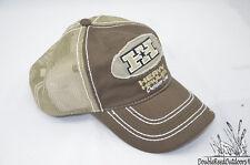 Heavy Hauler Outdoor Gear Hh logo baseball cap-Brown cotton twill mesh back