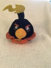 Angry Birds Plush Space Bird Bomb Black 5 inch