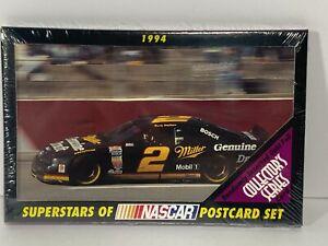 RUSTY WALLACE #2 SUPERSTARS OF NASCAR POSTCARD SET - 10 POSTCARDS - SEALED - NEW