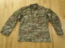 Army Combat Multicam OCP Coat Top Flame Resistant Large Long Flame Resist