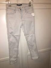 J Brand Nirv Sky Light Blue Skinny Crop Jeans  Size 28