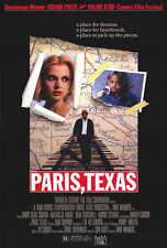 PARIS, TEXAS Movie POSTER 27x40 Harry Dean Stanton Nastassja Kinski Dean