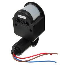 DC12V 180° Umano Infrarosso Sensore di Movimento PIR Interruttore Per LED Luce