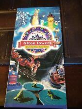 Alton Towers Theme Park brochure - 1996