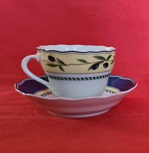 Hutschenreuther Medley Valdemossa Kaffeetasse mit Untertasse