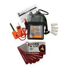 ULTIMATE SURVIVAL TECHNOLOGIES 20-02760  Learn & Live Fire Starting Kit