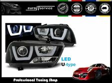 NEW HEADLIGHTS SET HEAD LAMP LPDO14 DODGE CHARGER LX II 2011-2015 TUBE LIGHT