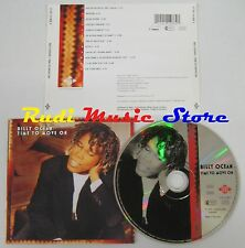 CD BILLY OCEAN Time to move on 1993 ZOMBA GERMANY 01241 414882 NO lp mc dvd(CS2)