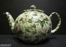 1 Heron Cross Pottery MAGNOLIA Chintz English 3 Cup Tea Pot or 2 mugs