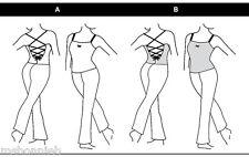 Jalie Spaghetti-Strap UNITARD Sewing Pattern # 2916 in 22 Misses' & Girls' Sizes
