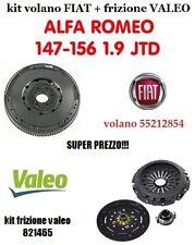 KIT FRIZIONE VALEO 821465 +VOLANO FIAT 55212854 ALFA 147-156 1.9 JTD (1900 JTD)
