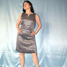 metallic silber ABENDKLEID* M * Cocktailkleid* Etuikleid* Sommerkleid* Minikleid