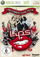 Lips: Number One Hits (ohne Mikrofone) XBOX 360 Spiel