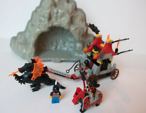 LEGO 6099 Fright Knights Traitor Transport & Dragon Cave with Instructions