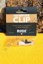 Broche de fixation Rode Vampire Clip - Microphone Røde Lavalier, smartLav
