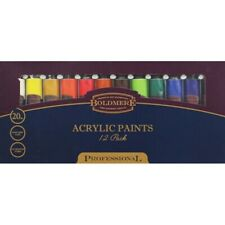 Brand New Art and Crafts Acrylic Paint Set - 12 Paints