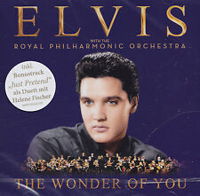ELVIS PRESLEY with the ROYAL PHILHARMONIC ORCH. - CD - THE WONDER OF YOU  (Neu)