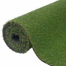 vidaXL Artificial Grass 1x5m/20-25mm Green Synthetic Fake Lawn Turf Mat Garden