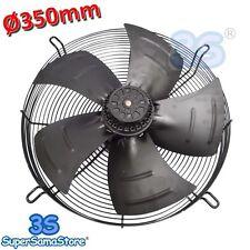 3S Ventilatore ventola assiale ASPIRANTE Ø 350 mm 135 W motore monofase NUOVO