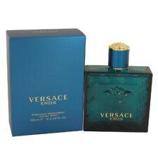 Versace Eros by Versace 3.4 oz Perfumed Deodorant Spray for Men Brand New In Box