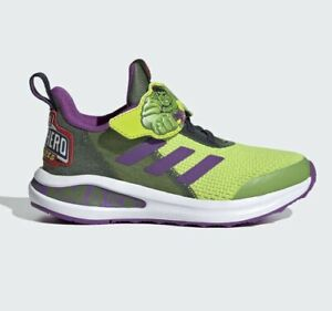 adidas Fortarun Super Hero Hulk Sport Shoes Kids Trainers