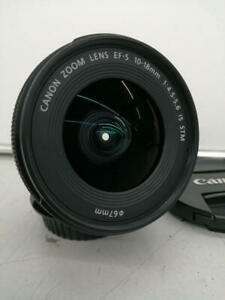 Canon Wide-Angle Zoom Lens Efs10-18Mm F4.5-5.6 Is Stm 7142004000