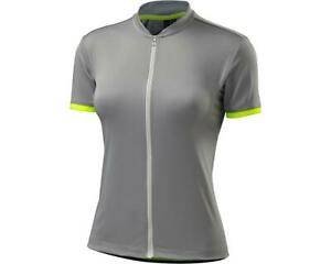 Specialized Women's Small RBX Sport Short Sleeve Jersey Light Grey/Neon CLOSEOUT