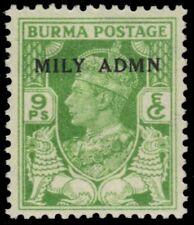 "BURMA 38 (SG38) - King George VI ""MILY ADMN"" (pb14038)"