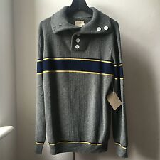 Très cool Band of Outsiders 100% Cachemire Col Roulé Sweater SZ 3