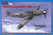 Avion de chasse Allemand MESSERSCHMITT Bf 109K-4, 1945 - KIT AML 1/72 n° 72026