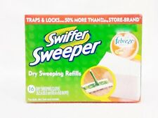 Swiffer Sweeper Dry Sweeping Cloth Refills Febreze CITRUS & LIGHT Dust Hair Dirt