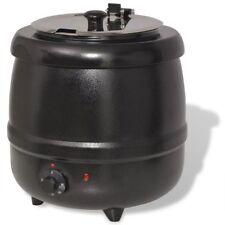 vidaXL Suppenkessel Elektrisch 400 W 10 L Suppenkocher Suppentopf Suppenwärmer