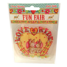 LOVE RIDE - Clear Stamp - Helz Cuppleditch Fun Fair Collection