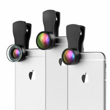 Fisheye Lens 20X Macro Lens 0.36X Wide Angle Lens for iPhone Android Smartphones