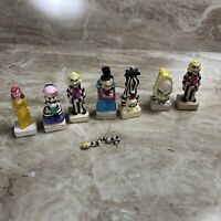 Vintage BeetleJuice Kenner 1989 Double Side Rubber Figure Toys Complete Set