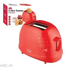 Quest 2 Slice Slot Toaster - 700W - Red - FREE P&P
