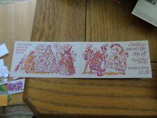 Pantomimes Special Offer Folded Booklet