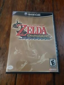 ZELDA WIND WAKER NINTENDO GAMECUBE -  REPLACEMENT CASE