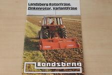 162227) Landsberg Rotorfräse Variantfräse Zinkenrotor Prospekt 198?