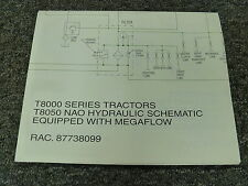 New Holland T8050 Row Crop Tractor Nao Hydraulic Schematic Diagram Manual