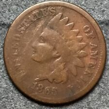 *1865* Good G Indian Head Cent Penny. M272 *Free Ship*