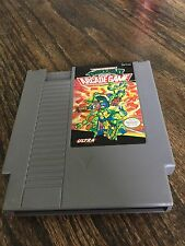 Teenage Mutant Ninja Turtles 2: The Acrade Game Nintendo NES Cart NE3