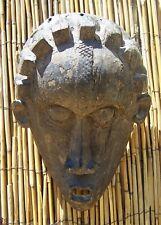 """African Art Bassa Mask From Liberia 12 1/2"""" Tall"""