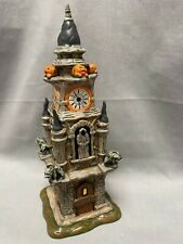 New ListingDept 56 Halloween Clock Tower #4020233 Introduced Jan 2011 Retired Dec 2011