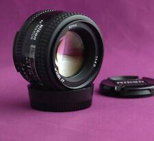 Nikon 50mm f 1.4 D Superb Quality Lens FULL FRAME DSLR SLR 1921C