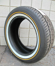 New 275-55-20 117H Vogue Tyre Custom Built XIII Gold White Tire 27555R20 2755520